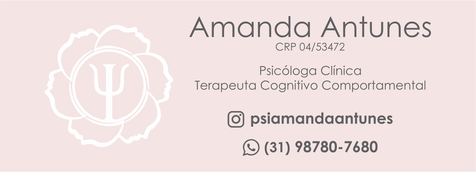 Amanda Antunes - Psicóloga